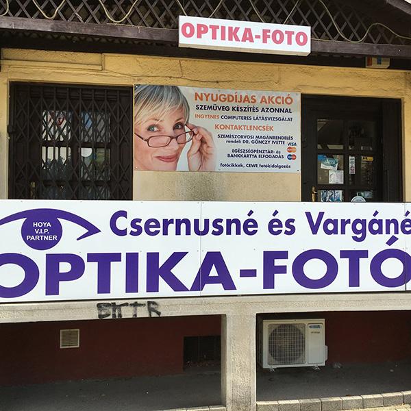 Csernusné és Vargáné Optika-Fotó Ózd - Szemüvegek, kontaktlencsék, orvosi szemvizsgálat